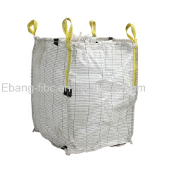 Antistatic flexible intermediate bulk container