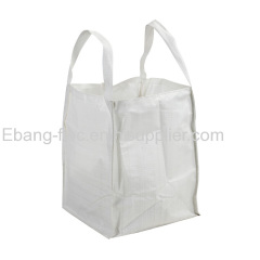2 loop square shape jumbo size bulk container