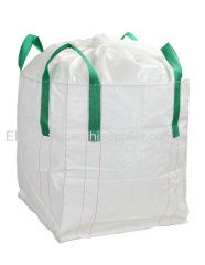 bulk bag with top duffle bottom spout