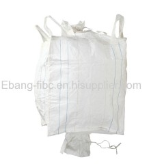 recyclable Tubular big bag with cross corner loop