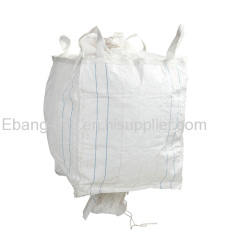 cross corner bags with top and bottom spout for 1000kg industiral packing