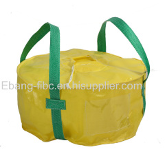 big bag with two loops for packing chemical powder