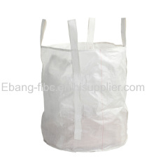 Circular 4 loop open top plain bottoom big bag