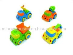 nice plastic truck type candy toys