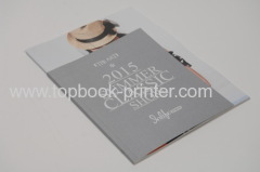 Custom silver-stamped linen-faced paper cover+matte lamination art paper cover design softcover book