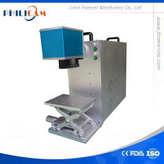 Popular useful mini machine button marker fiber laser