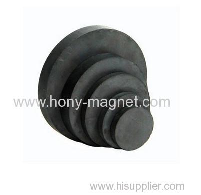 Disc Strontium Ferrite Magnet With High Grade