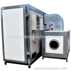 LPG fired powder curing oven