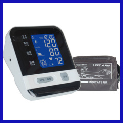 Standing blood pressure monitor