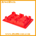 Silicone lego men ice cube tray 5 cavitives