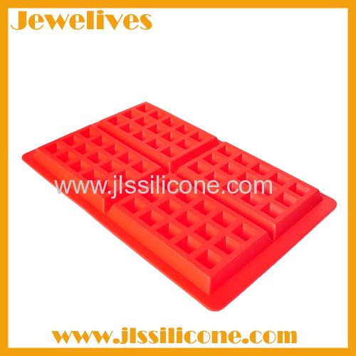 Good kitchen helper silicone waffle mold