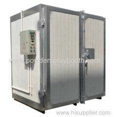 custom-built powder coating oven
