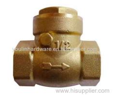 Forging brass valve shunt
