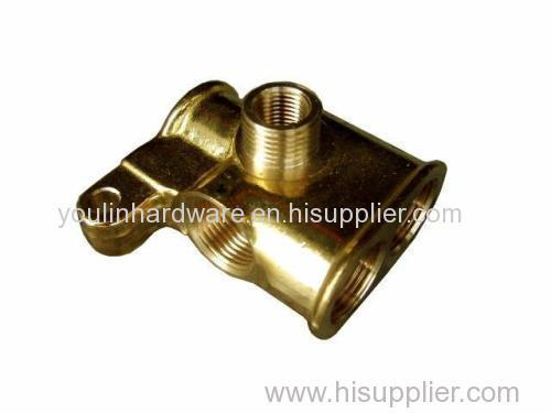Forged brass welding parts with good quality