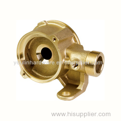 Forged sand blasting precision valve body