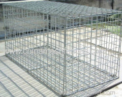 1*1*0.5 m welded gabion basket 2*1*1 m welded gabion box