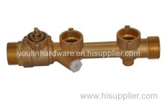 Brass forged heat meter base with good price