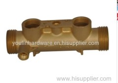 Brass pump base parts