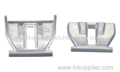 Die-closed hot forging aluminium parts
