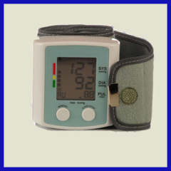 home and hospital use blood pressure monitor wrist