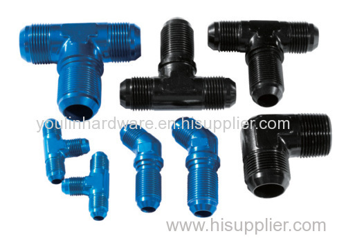 Blue forging aluminum connector