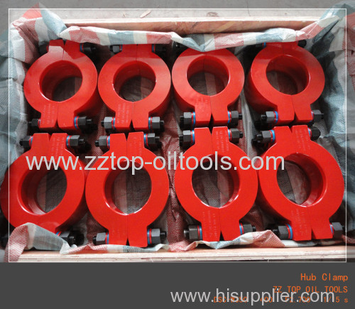 Hub Clamp 9# for wellhead equipment connection