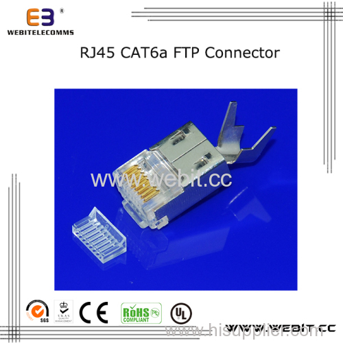 Cat6a Rj45 FTP 8P8C Connector with ear