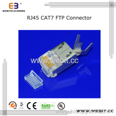 Cat7 Rj45 FTP 8P8C Connector with ear
