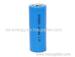 18500 3.2v Cylinder Lithium Ion Battery 1000mah