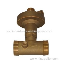 Brass water gate valves