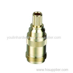 CNC machining precision brass nut