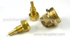 High precision machining brass nuts
