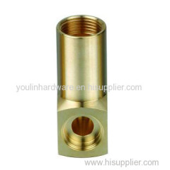 Natural brass machined joints