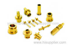 Multiple brass precision machining cone