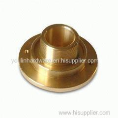 Brass precision machining cone