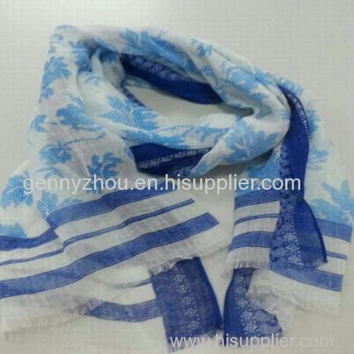 Viscose scarf printing scarf