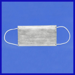 4 layer Disposable Activated carbon filter mask with earloop