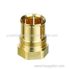 Natural brass coupling joints