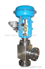 pneumatic high caliber three shunt valve