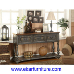 Classic table console table living room furniture