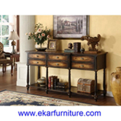 Console table corner table living room table