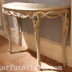 Console table wall table side table
