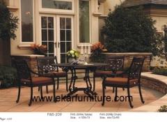 Garden coffee table chair iron garden chair cushions