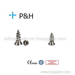 Mini Titanium Self-drilling Screws 2.0 System Screw Diameter 2.0mm Length 5/6mm Mini Autoperforante tornillos