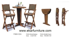 Garden chair cover bar furniture table and chairs