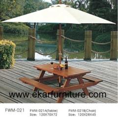 Teak sofa garden dining table and chair sofa set