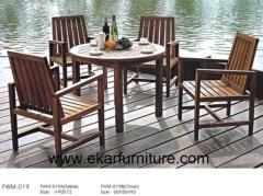 Teak sofa set garden dining table and chair