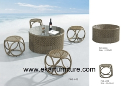 Dining table metal garden chair cover coffee table