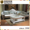 Wooden frame sofa new fabric sofa with PVC