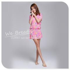 Apparel & Fashion Underwear & Nightwear Pajamas Bamboo Fiber Ladies Cover up Lounge Wear Sleepwear Spring Summer